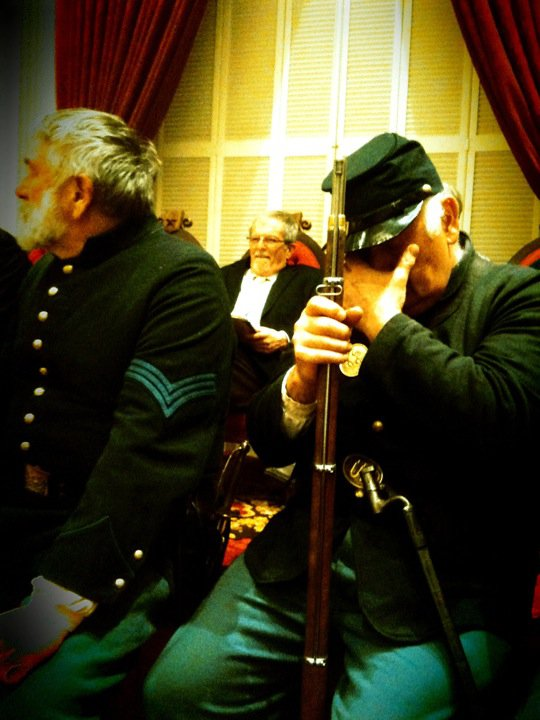 Howard Coffin, Civil War Re-enactors, Hall of Representatives, Vermont State House