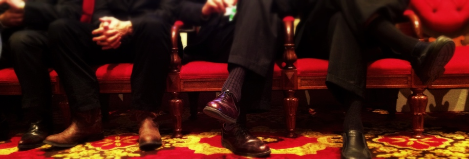 Detail, Senatorial Shoes, Vermont State House
