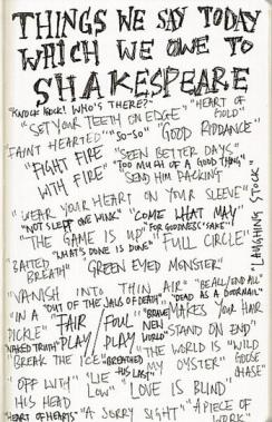 Shakespeare's Phrases