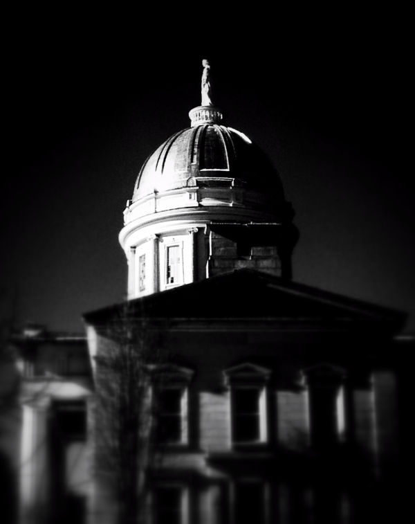 The Golden Dome in the Early Morning