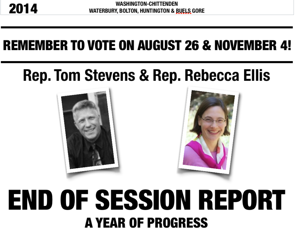 End of Session Report 2014